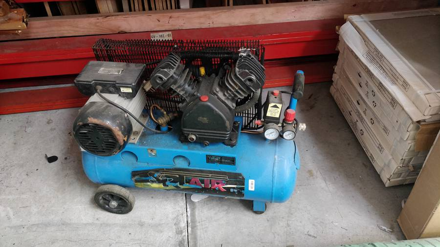 Conel Air Compressor | number8 bid | number 8 solutions Ltd