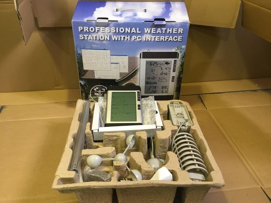 Boxed Professional Weather Station with PC Interface